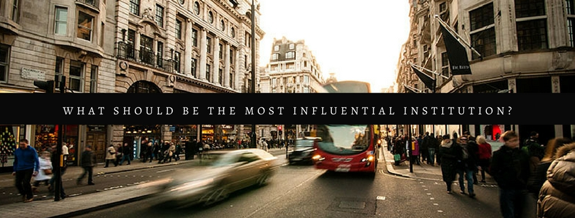 what is the Most Influential Institution?